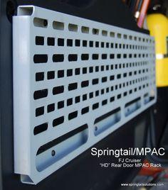 FJ Rear Door HD MPAC Rack