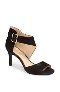 e65024cf3af173 Jessica Simpson  Marrionn  Sandal Black 8.5 M gifters.com black dress shoes  for
