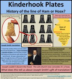Mormon Infographics: Kinderhook Plates; Hoax or History? Joseph Smith = OOPS! SO glad to be an ex-mormon!
