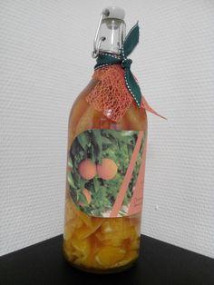 Rhum arrangé orange cannelle - DIY pour Noël
