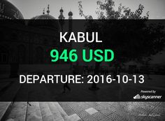 Flight from Charlotte to Kabul by Avia    BOOK NOW >>>