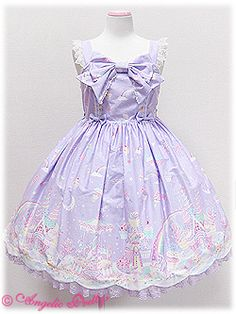Angelic Pretty Milky Planet JSK - Lavender  http://lolibrary.org/node/3855