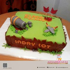 Clash of clans b'day cake # AryansCake...