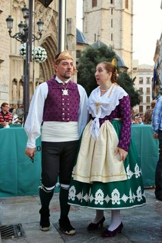 Folk Costume, Costumes, Folk Clothing, Textiles, People Around The World, Traditional, Alicante, Social, Clothes