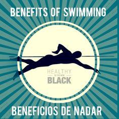 #fittuesday #martesdeejercicio Is swimming right for you? Learn about the benefits of this amazing workout: http://www.healthythenewblack.com/en/articles/benefits-of-swimming  ¿Es la natación para ti? Mira los beneficios de este maravilloso ejercicio: http://www.healthythenewblack.com/es/articulos/beneficios-de-la-nadar