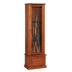 8-gun Glass Door Display Cabinet
