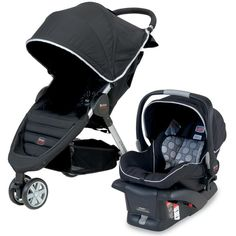 Britax B-Agile Travel System - Black