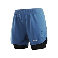 LianXiYou Men Splice Quick Dry Cargo Pocket with Pockets Short Swimsuits