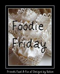 I'm at the store today so I have no idea what dinner will be.  So I thought I would share the cookies I baked this morning on Foodie Friday...
