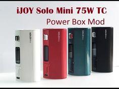 IJOY Solo Mini 75W TC Power Box Mod od GD