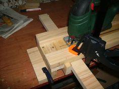 Invento casero para realizar cortes rectos con la sierra de calar.