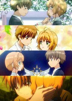 Sakura x Syaoran moments Sakura Card Captor, Cardcaptor Sakura, Scott Pilgrim, Kimi No Na Wa, Mirai Nikki, Angel Beats, Icarly, Ginger And Rosa, Totoro