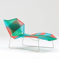 Chaise longue Tropicalia de Patricia Urquiola - Moroso