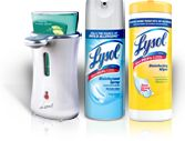 Flu season is upon us, my Lysol products are being purchased.