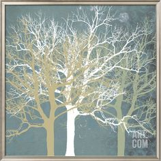 Tranquil Trees Art Print by Erin Clark at Art.com