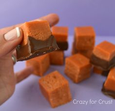 Butterfinger Fudge | Crazy for Crust