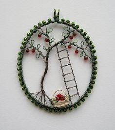 "Not sure if I should put this on ""Hand made and I like it"" or ""artist envy"". I can do this (not this, similar), but Louise Goodchild did it first, So I am envious. But I may borrow from it so this is where it shall be."