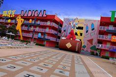 80s building @ Pop Century Resort - Walt Disney World