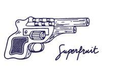Gif du sticker gun 2017 par Superfruit