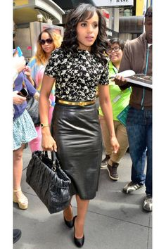 Kerry Washington is the queen of sophisticated separates