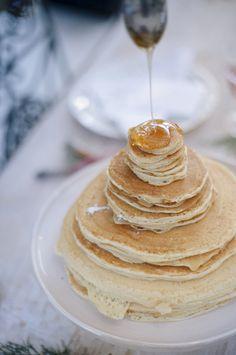 Matrimonio d'inverno, pancake cake, wedding