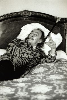 helmut newton salvador dali motel meurice paris 1973 - Salvador Dali Lebenslauf