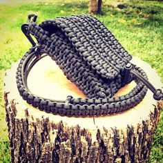 Paracord Pouch with Adjustable Sling by ParaCordGuyLLC on Etsy