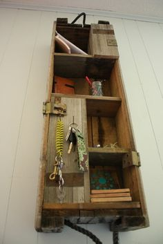 Wall Shelves - fence/barn wood
