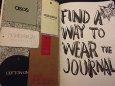 Some typical journal wrecking methods.good jump off point wreck this journal… Bullet Journal Ideas Pages, Journal Entries, Journal Pages, Bullet Journals, Wreck This Journal, Drawing Journal, Journal Diary, Tumblr, Art Journal Inspiration