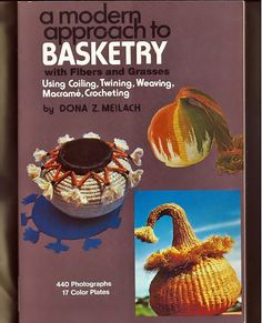 A modern Approach to Basketry with fibers and by grammysyarngarden, $15.00