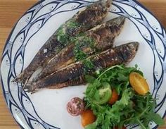 Morrisons Grilled Sardines with Lemon and herb butter Sardine Recipes, Fish Recipes, Healthy Recipes, Grilled Sardines, Morrisons, Herb Butter, The Dish, Main Meals, Seafood