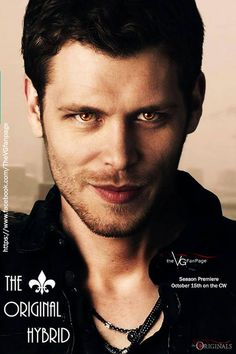 Klaus Mikaelson... the Original Hybrid