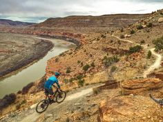 Did you know you can ride your mountain bike from Fruita to Moab, off-road? Photo: Erik Proano