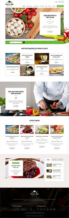 Check out new work on my behance portfolio recipepress food recipepress is a premium responsive wordpress theme for recipes and other foodblog related forumfinder Choice Image