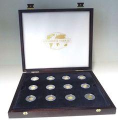 "Goldmünzen Set ""Gefährdete Tierwelt"" Gold 999 / 12 Münzen je 1/25 oz Feingoldsparen25.com , sparen25.de , sparen25.info"
