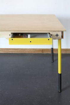 South African design and furniture makers Table Furniture, Furniture Making, Furniture Design, Furniture Ideas, Writers Desk, South African Design, Environmental Design, Modern Design, 3d Design