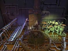 "Animusic - Pipe Dreams - YouTube.  This video clip is from Animusic's ""Pipe Dream"" animation.    It was not created with farm equipment."