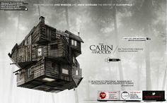 Best Case for Movie Website Design, all movie identities are very clear and fabulous. Good Job !!     http://www.discoverthecabininthewoods.com/