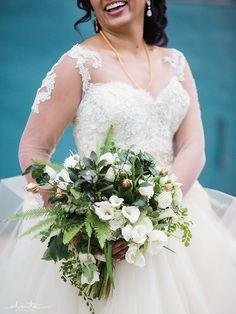Indian Fusion Wedding at Magnuson Park Hangar 30   Taylor'd Events Group   Alante Photography    Floressence   #indianwedding #seattlebride #wedding #indianbride #fusionwedding