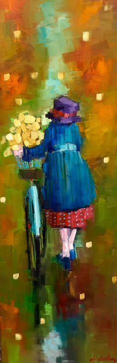 Artist: Angela Morgan, Title: autumn flowers - click for larger image