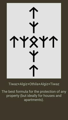 Pingl par boddhi sur runes pinterest - Rune viking traduction ...
