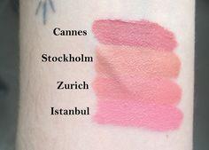 NYX soft matte lip cream (nudes)