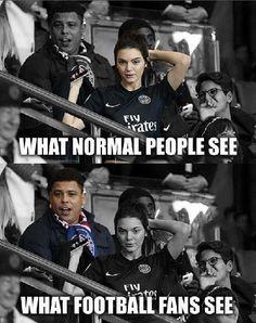 Co widzą normalni ludzie, a co widzą fani futbolu • Ronaldo vs piękna kobieta • Śmieszne zdjęcia w piłce nożnej • Wejdź i zobacz >> #ronaldo #football #soccer #sports #pilkanozna