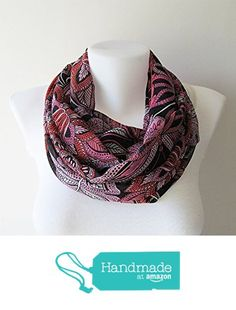 Boho Scarf, Black Floral Infinity Scarf, Spring Summer Fashion, Flower Print Chiffon, Double Layer Shawl, Tribal Scarf, Women Accessories from NaryaBoutique https://www.amazon.com/dp/B01HOSWSUU/ref=hnd_sw_r_pi_dp_GPIcAbVT0TTZY #handmadeatamazon