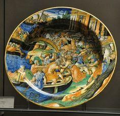 Majolique d'Urbino, atelier Fontana
