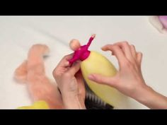 Keçe iğneleme tekniğiyle oyuncak peri bebek çocuk odası süsü yapma DIY - YouTube