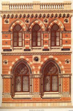 13 | Victorian Brick and Terra-Cotta Architecture - Викторианская кирпичная и терракотовая архитектура | ARTeveryday.org