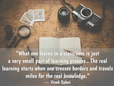 wanderlust, travel quotes Places To Travel, Travel Destinations, A Classroom, Learning Process, Flight Attendant, Wanderlust Travel, Travel Quotes, Food For Thought, Just Go