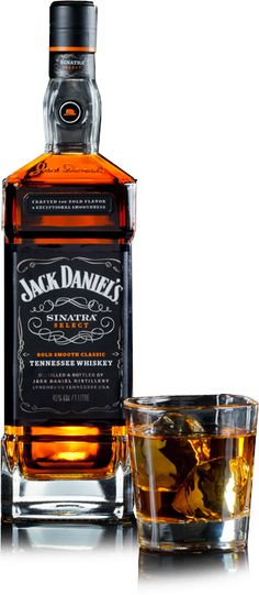 Jack Daniel's Sinatra Select - Litre Bottle : The Whisky Exchange Cigars And Whiskey, Whiskey Drinks, Scotch Whiskey, Bourbon Whiskey, Whiskey Bottle, Vodka, Tequila, Fun Drinks, Alcoholic Drinks