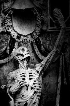 B♠nes ☠ - René de Chalon by sculptor Ligier Richier (Saint-Étienne church in France) (c. 1500–1567)
